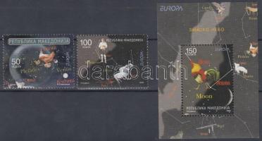 2009 Europa CEPT: Csillagászat sor Mi 502-503 + blokk Mi 19