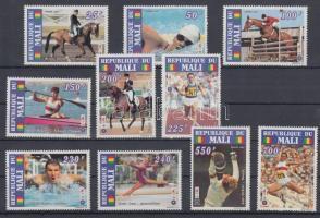 1995 Atlantai nyári olimpia sor Mi 1327 A-1336 A