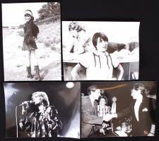 1968-1989 4db fotó Kovács Kati énekesnőről, 18x24cm