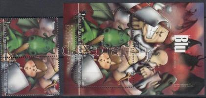 2010 Europa CEPT: Gyermekkönyvek pár Mi 567-568 A + blokk Mi 39