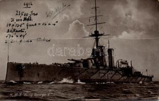 HMS King George V csatahajó, HMS King George V