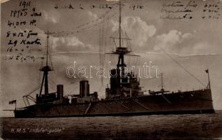 HMS Indefatigable csatahajó, HMS Indefatigable