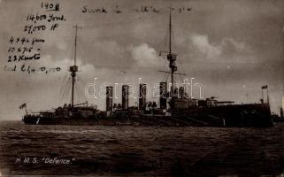 HMS Defence páncélos cirkáló, HMS Defence