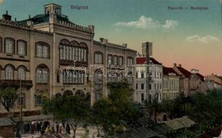 Belgrade, market place