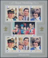 1981 Hercegi esküvő blokk Mi 3