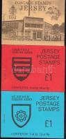 1978-1979 3 klf bélyegfüzet Mi MH 0-18, 0-19, 0-20