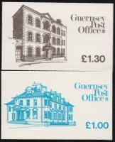 1983 Pénzérmék 2 db bélyegfüzet Mi MH 18 + 19