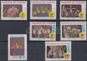1980 Orchideák sor Mi 1885-1891