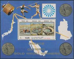 1972 Olimpia blokk Mi 181