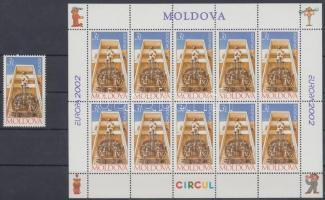 2002 Europa CEPT: Cirkusz bélyeg + kisív Mi 429
