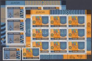 2002 Europa CEPT: Cirkusz sor + kisív pár Mi 254-255