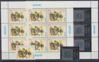 2003 Europa CEPT: Plakátművészet sor + kisív pár Mi 279-280