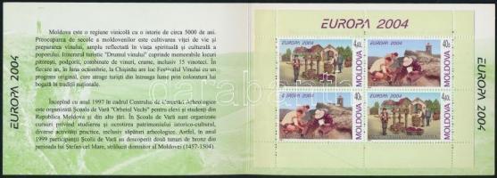 2004 Europa CEPT: Vakáció bélyegfüzet MH 8
