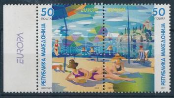 2004 Europa CEPT: Vakáció ívszéli pár Mi 317-318