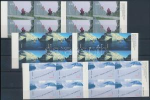 2004 Europa CEPT: Vakáció bélyegfüzet sor Mi 1497-1499 D