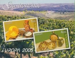 2005 Europa CEPT: Gasztronómia bélyegfüzet MH 9