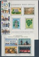1975-1983 Posta, Intézmények 1 sor + 2 blokk