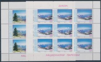 1999 Europa CEPT: Nemzeti Parkok kisív pár Mi 162-163