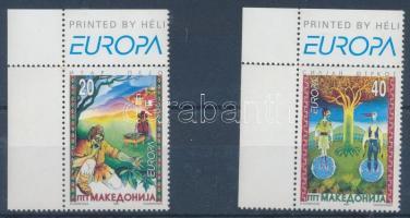 1997 Europa CEPT: Történetek és legendák ívsarki sor Mi 102-103