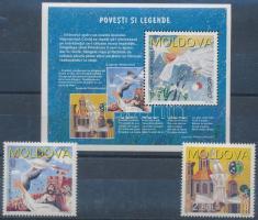 1997 Europa CEPT: Történetek és legendák sor Mi 236-237 + blokk Mi 12