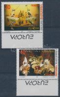 1998 Europa CEPT: Nemzeti ünnepek ívszéli sor Mi 128-129