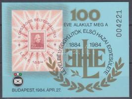 1984 LEHE emlékív karton (4.000)