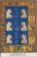 1990 Bibliotheca Corviniana emlékív magyar szöveggel 13 db (10.400)