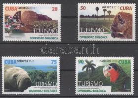 2010 Turizmus, állatok sor Mi 5452-5455