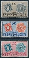 1951 100 éves a bélyeg Szardínián sor Mi 845-847