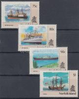 1991 Forgalmi: Hajók sor Mi 508-511