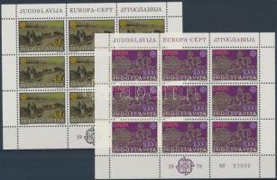 1978-1979 Európa kisívsorok Mi 1725-1726, 1787-1788