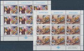 1989 Európa: Gyermekjátékok kisívsor Mi 2340-2341