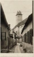 Késmárk, Kezmarok; damaged catholic church (fl)