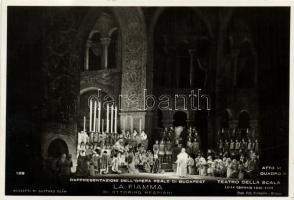 Budapest VI. Operaház, a Teatro Della Scala előadása, Ottorino Respighi La fiamma című darabja