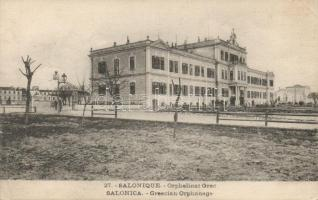 Thessaloniki, Salonique; Greek orphanage