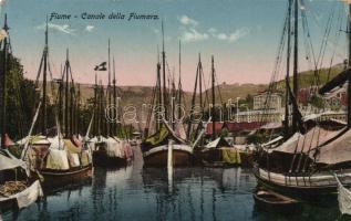 Fiume, Rijeka; Canale della Fiumara / channel, Fiume, Fiumara-csatorna