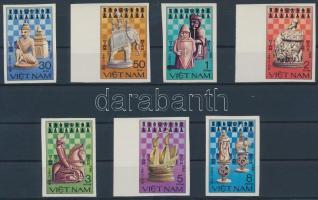 1983 Sakk vágott sor Mi 1335-1341