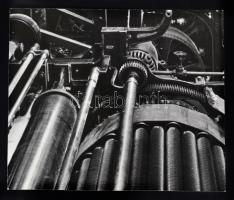 cca 1930-40 Ismeretlen szerző: Hengersor. Későbbi nagyítás, 18x16 cm