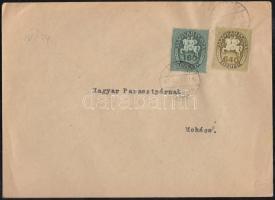1946 (13. díjszabás) Távolsági levél 250gr-ig Lovasfutár 160ezerP + 640ezerP kicsivel túlbérmentesítve