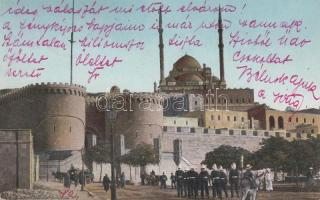 Cairo, the entrance of the Citadel