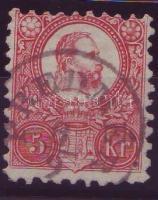 1871 Réznyomat 5kr / Mi. 10 PREDMÉR