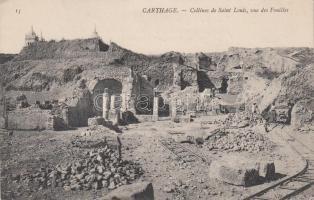 Carthage, collines de Saint Louis / excavation site
