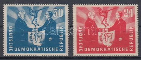 1951 Német-lengyel barátság Mi 284-285