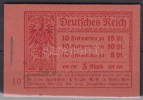 1919 Teljes bélyegfüzet Mi MH 12