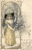 Hölgy litho, Lady litho