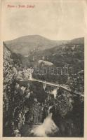 Fiume, Rijeka; Ponte Zakayl / bridge, Fiume, Ponte Zakayl