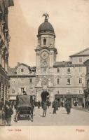 Fiume, Rijeka; City Tower, Fiume, Óratorony