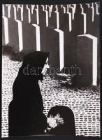 cca 1960-1970 Ismeretlen szerző fotómontázsa 24x18 cm-es méretben