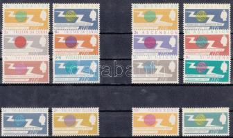 1965 Telekommunikáció, 7 klf angol gyarmati omnibusz kiadás