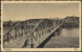 Mukachevo, bridge, Munkács, híd